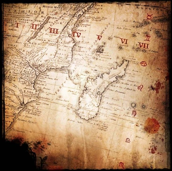 mapa del tesoro pirata