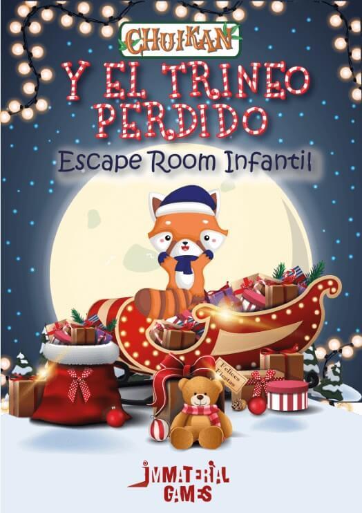 Escape room para hacer en navidad